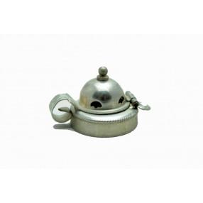 Vintage alluminium pipe lid