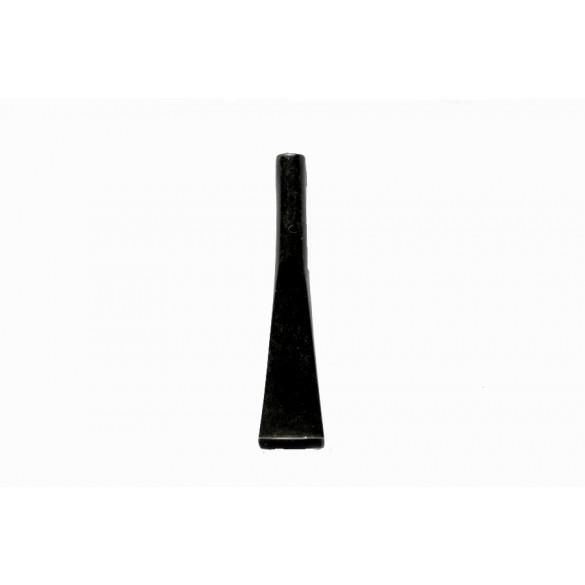 Raw ebonite moutpiece conic insert 85 mm x 9 mm