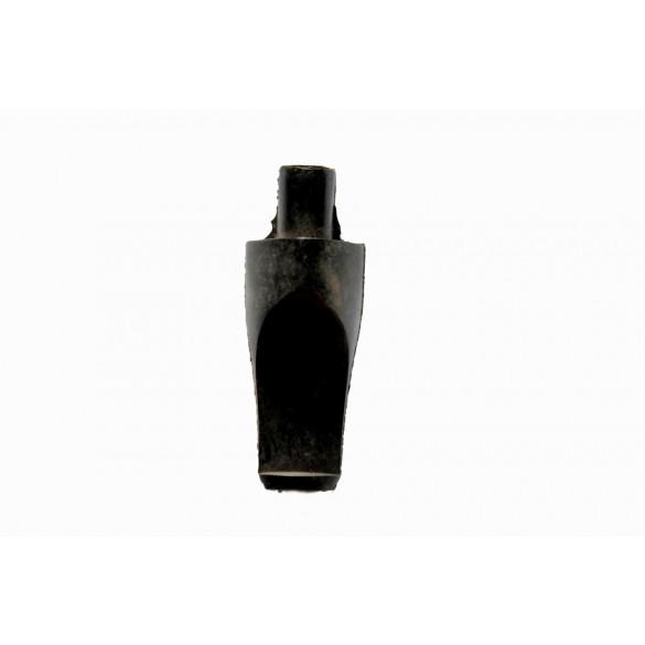 Raw triangular chubby fantasy ebonite moutpiece 60 mm x 25 mm x 25 mm