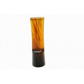 Raw saddle tartaruga acrylic mouthpiece 70 mm x 20 mm