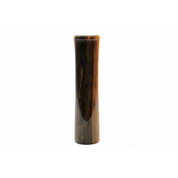 Raw cumberland orange acrylic moutpiece 80 mm x 20 mm