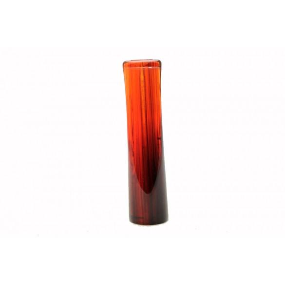 Raw red tartaruga acrylic mouthpiece 80 mm x 20 mm