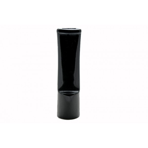 Raw saddle black acrylic mouthpiece 70 mm x 20 mm