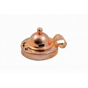 Vintage copper pipe lid
